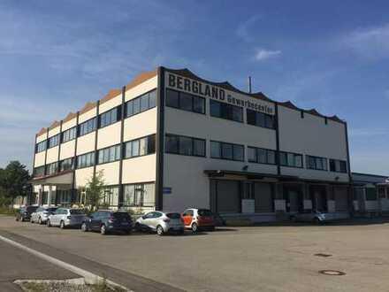 Büros, Produktions- und Lagerflächen, große Auswahl