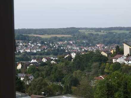 Dachgeschosswohnung mit Panoramablick