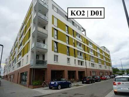 *Vermittlung NUR an Studenten* 1-Zimmer-Wohnung mit EBK und Balkon zum 01.01.2020