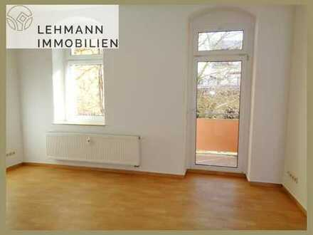 2-Zimmer-Erdgeschoss-Wohnung mit Balkon!