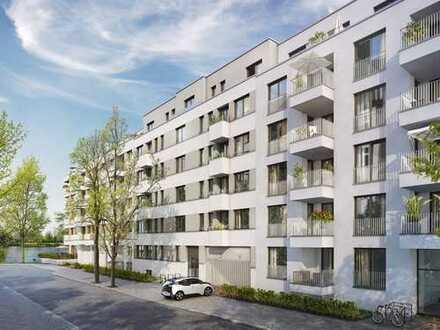 Einzigartige 3-Zi.-Wohnung mit Loggia und Balkon im Wohnquartier UFERKRONE Suno
