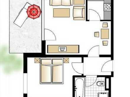 Wunderschöne, kleine Wohnung mit Garten & Terasse