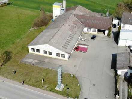 Vermietung Halle Gewerbehalle ca. 1380 m² + Freiflächen Zieglberg