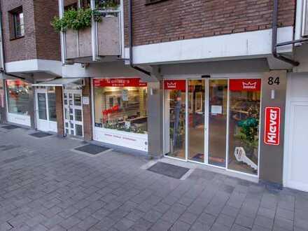 Ladenlokal, Praxis und Bürofläche in Düsseldorf Friedrichstadt zu verkaufen