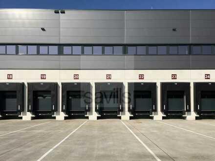 Logistikneubau in der Nähe von Hannover