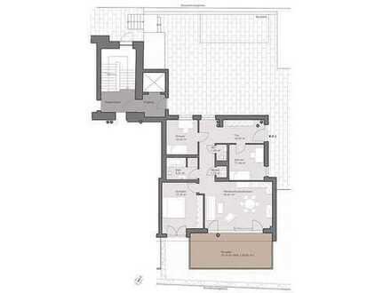 Schöne 4-Zimmer-Wohnung mit Terrasse