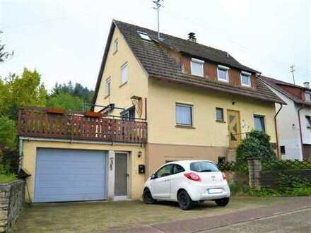 Schöne 3-Zimmer-Wohnung und zusätzliche 1-Zi-Einliegerwohnung in guter Wohnlage in Fichtenberg