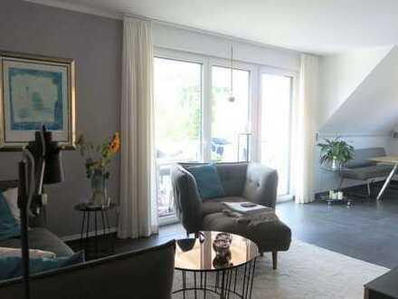 Neuwertige 4-Zimmer-Maisonette-Wohnung mit Balkon in Braunschweig