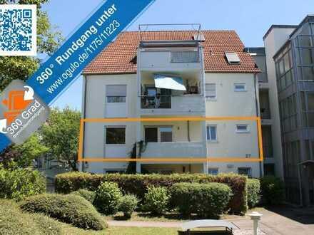 Seltene Gelegenheit! Stadtnahe 3 Zimmer-Wohnung mit Aufzug und West-Balkon