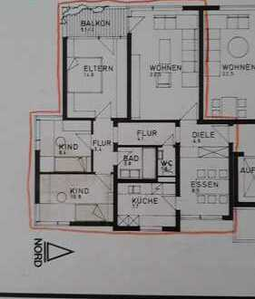 Erstbezug nach Sanierung mit Balkon: Sonnige 4,5-Zimmer-Wohnung in Leonberg