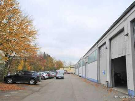 E & Co. - Funktionale, ebenerdige Lagerhalle mit großem Rolltor und Top Anbindung