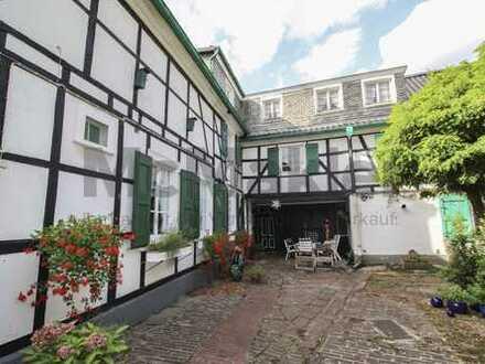 Für Liebhaber: Charmantes Fachwerkhaus mit Garten im Herzen von Burscheid - vielseitig nutzbar!