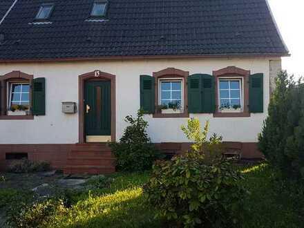 renoviertes Buntsandsteinhaus in Homburg-Erbach