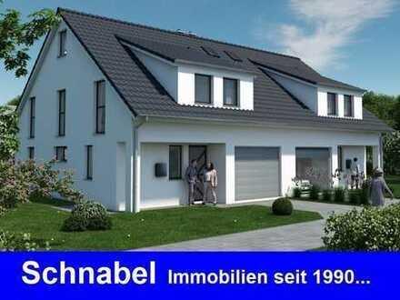 Doppelhaushälfte / Grundstück / Garage