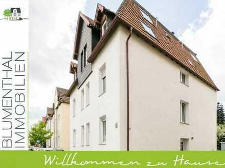 Gepflegte 4 Zimmer Altbauwohnung mit West Balkon & Blick ins Grün