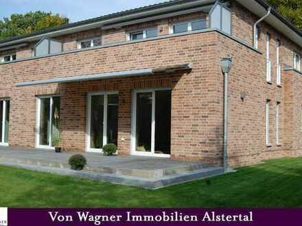 Erst-Bezug: Schicke EG-Wohnung im ruhigen Poppenbüttel