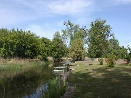 Herrliches Anwesen in Alleinlage direkt an der alten Oder