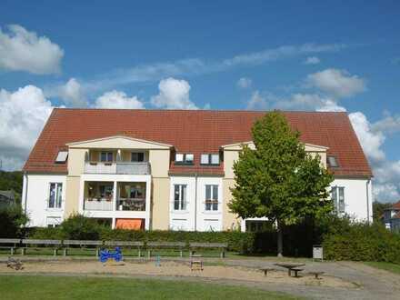 Geräumige 2-Zimmer-Wohnung mit Balkon und Pkw-Stellplatz in Gransee