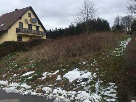 Bauträgerfrei, voll erschlossen: Idylisches 541qm Grundstück in Stadt- und Landnähe