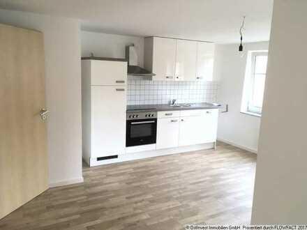Schöne 2 Raumwohnung in Reinsdorf mit Balkon und Einbauküche zu vermieten