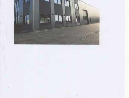 Geplante Gewerbe-/Lagerhalle in Castrop-Rauxel
