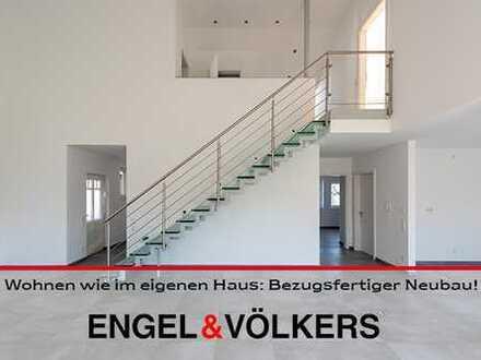 Wohnen wie im eigenen Haus: Bezugsfertiger Neubau mit exklusiver Ausstattung!