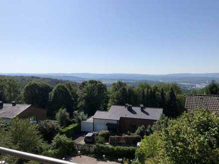 Dortmund Syburg lichtdurchflutete 5-Zimmer-Wohnung mit Traumsicht ins Ruhrtal