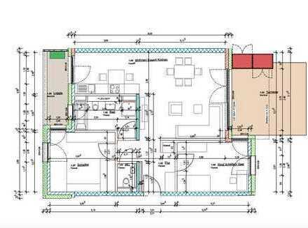 Eigenbedarf oder Kapitalanlage: 3-Zimmer Wohnung | TOP-Lage | Privatgarten | Riedberg!