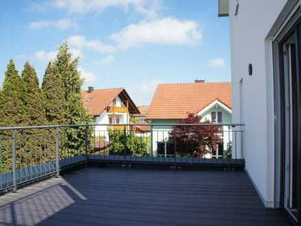 ... Neubau - Erstbezug 2-Zi-Wohnung mit Dachterrasse in ruhiger Bestlage ...