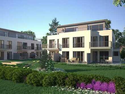 Modernes Apartment mit Süd-West-Terrasse in idyllischer Umgebung nahe der Münchner City