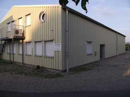 Helle Lagerhalle mit Bürotrakt und Ausstellungraum, 400m² in Lichtenau