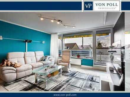 Helle 3-Zimmer Wohnung mit großem Balkon