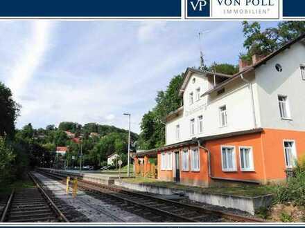 Der Bahnhof von Gräfenberg
