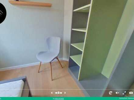 Nachmieter WG-Zimmer 13qm, 388€, möbliert, alles neu