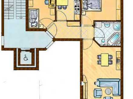 Tolle 3 Zimmerwohnung mit EBK und Lift