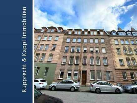 Komplett sanierte Drei-Zimmer-Eigentumswohnung in Gostenhof/Nürnberg
