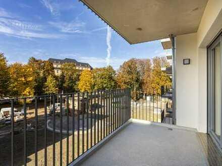 Erstbezug zentral: Familienwohnung mit 2 Bädern, Südwestbalkon & EBK   1. Monat mietfrei