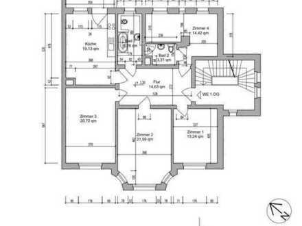 20,72m² Zimmer in einer 117m² Whg. am Völkerschlachtdenkmal zu vermieten