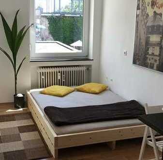 Möbliertes WG Zimmer am Entenfang Mühlburg // inkl. NBK, Strom & Internet