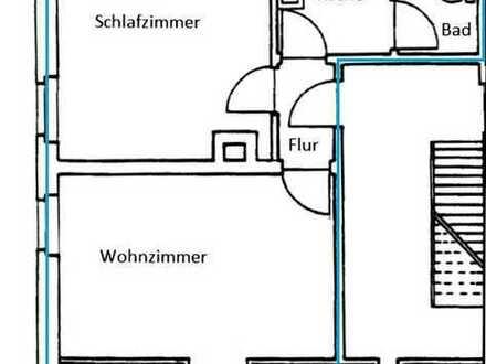 Modernisierte 2-Zimmer-Dachgeschosswohnung mit Küche in Fürth