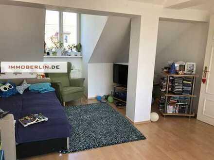 IMMOBERLIN: Optimal besonnte vermietete Wohnung mit ruhiger Westterrasse