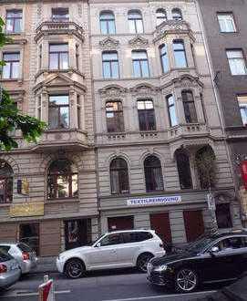 Belgisches Viertel 2-Zimmerwhg., Einbauküche, Jugendstil, teilmöbliert