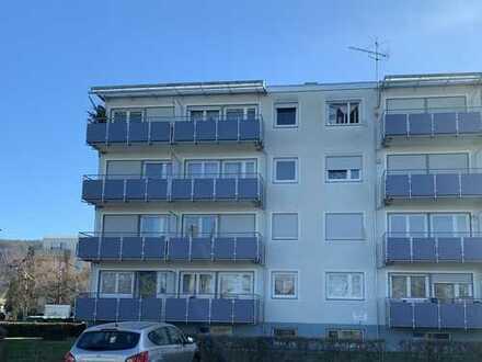 Modernisierte, ruhige 2-Zimmer-Wohnung mit Balkon in Nussloch