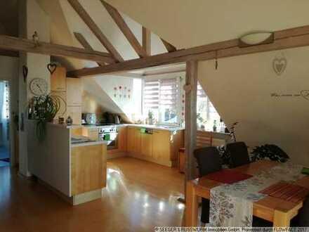 Gemütliche Dachgeschosswohnung mit besonderem Charme!