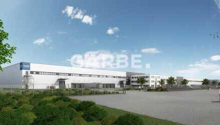 ca. 42.000 m² Hallenfläche, teilbar, 40 Rampen, 12 m UKB, Norden von Berlin *direkt vom Eigentümer*