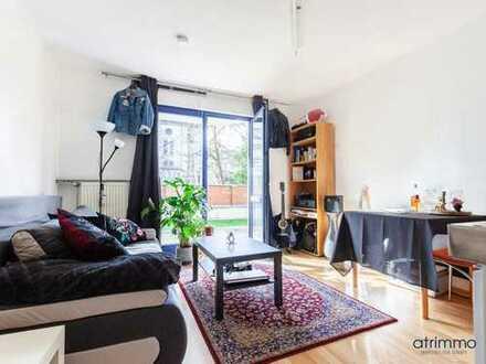 Achtung Anleger! Mini-Appartement mit Maxi-Lage. 23 qm mit Terrasse. Bonn/Hofgartennähe.
