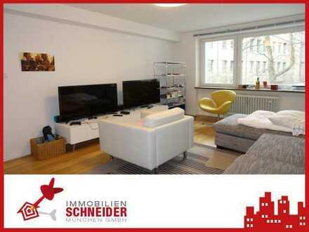 IMMOBILIEN SCHNEIDER - komplett möblierte 2 Zimmer Wohnung mit Balkon, EBK