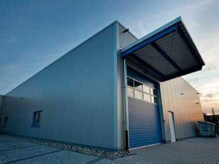 """BAUMÜLLER & CO."" - ca. 2.000 m² Hallenfläche - Nähe A67 - ebenerdige Andienung"