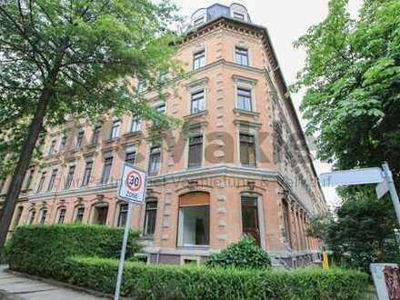 Gewerbeeinheit mit Altbaucharme - Rund 75 m² Großraumbüro in zentrumsnaher Lage von Chemnitz