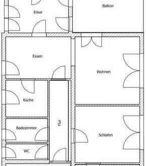 Großzügige 5 Zimmer-Wohnung in ruhiger, gut erschlossener Wohngegend, schön durchgrünt